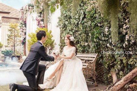韓國婚紗 - 客人成品分享