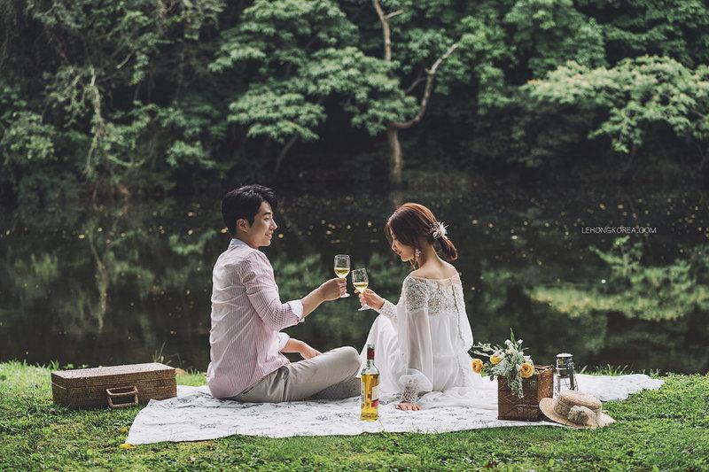 自然系婚紗,拍婚紗