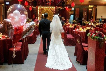 / 證婚晚宴 / 雅敬&成一 / 清新典雅 / Janet