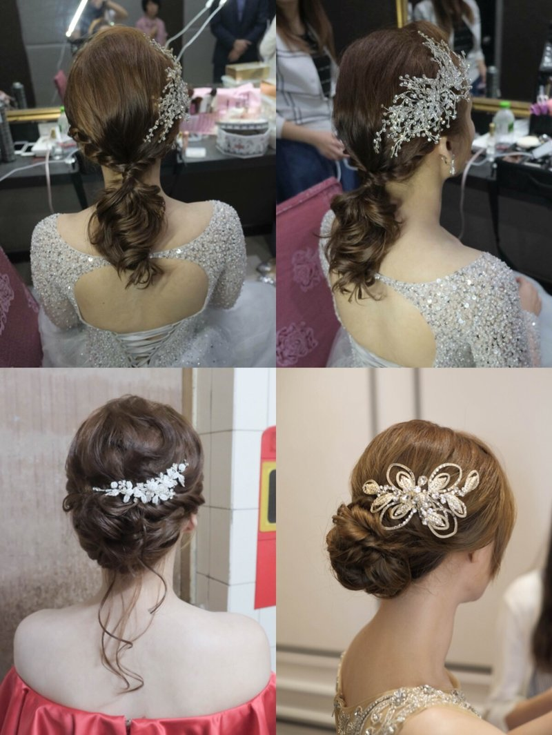 婚宴親友妝髮服務作品