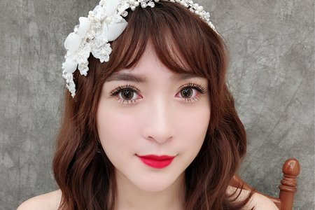 Yumi make up studio-萱 婚紗寫真