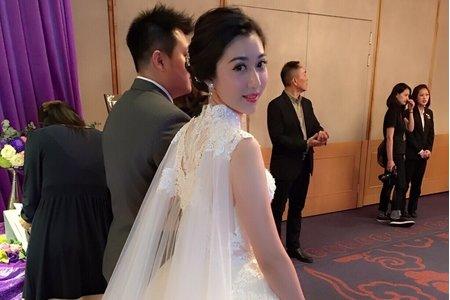 超美的佳倩結婚了