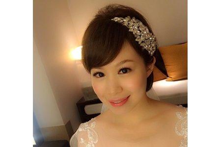 超短髮新娘