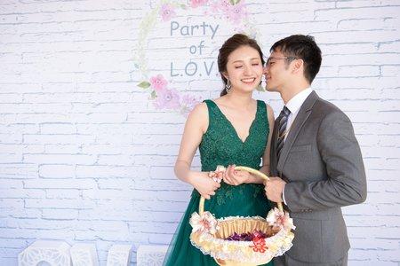 [婚攝] 弘緯&宛嬋│高雄@吉喜│訂結@婚禮紀錄