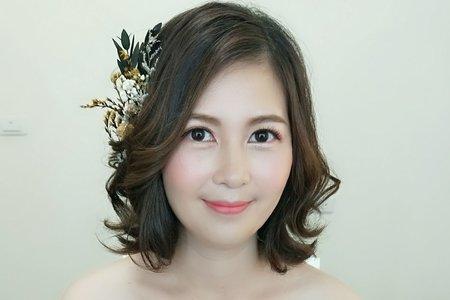 韓式森林系妝髮