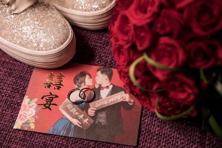 閎凱&亭亭 | 新莊典華 | 婚禮記錄 | 典華婚攝推薦