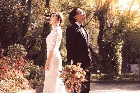 雙瑩浪漫婚紗照