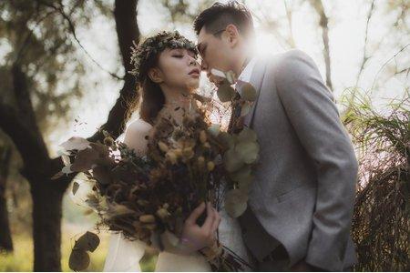 仙女花圈婚紗造型