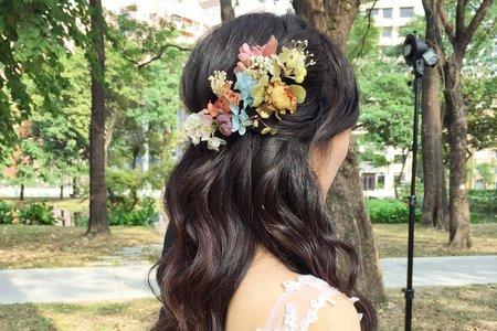 2019婚紗造型