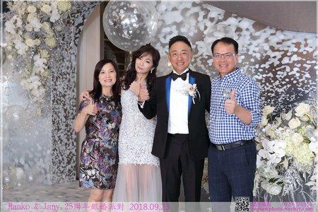 【Hanko&Jany 25周年銀婚派對】拍立得