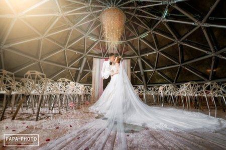 大直典華日出廳+圓頂證婚 婚攝趴趴 PAPA-PHOTO Kevin+Olivia