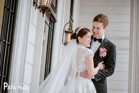 Maxime+Aurelie 婚攝港南艾茉爾婚攝趴趴/港南婚攝/PAPA-PHOTO桃園婚攝團隊
