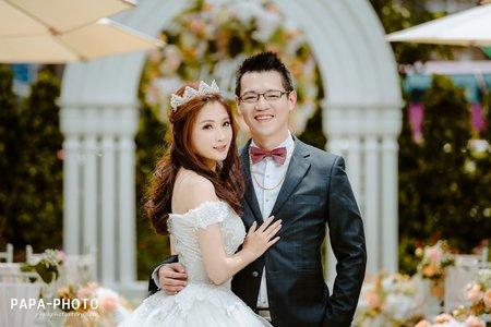 青青格麗絲 婚攝趴趴 PAPA-PHOTO 為紳+詩潔