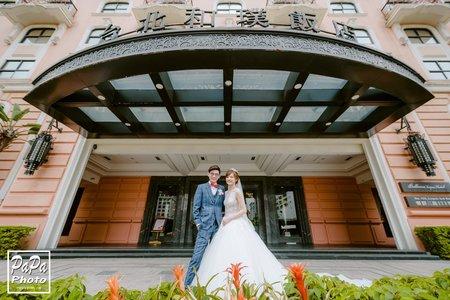 Anfo+Kate 婚攝和璞飯店婚攝趴趴/和璞婚攝/桃園婚攝/PAPA-PHOTO婚禮攝影團隊