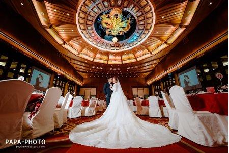 Hover+Angie 婚攝圓山大飯店婚攝趴趴/金龍廳圓山婚攝/PAPA-PHOTO 桃園婚攝工作室