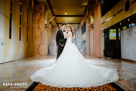 Eric+Iris 婚攝新店彭園婚攝趴趴/彭園新店婚攝/PAPA-PHOTO桃園婚攝團隊