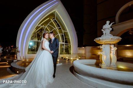 Alan+Kiki 婚攝星靚點花園飯店婚攝趴趴團隊/星靚點婚攝/PAPA-PHOTO桃園婚攝團隊