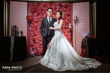 Mark+Charlene 婚攝花園大酒店婚攝趴趴/PAPA-PHOTO桃園婚攝團隊