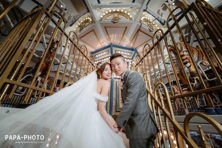 Ming+Shin 婚攝尚順君樂婚攝趴趴/尚順婚攝星輝廳/PAPA-PHOTO桃園婚攝團隊/尚順君樂飯店