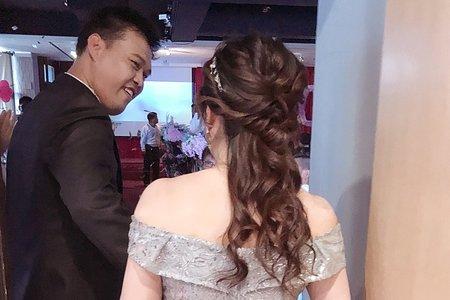 M&B studio-婚宴現場-新娘毓容進場造型