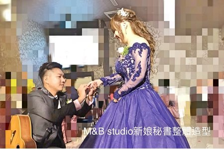M&B studio-婚宴現場-新娘毓純-二進造型