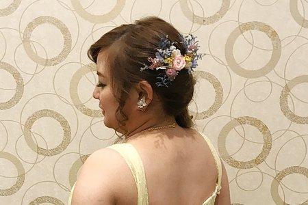 M&B studio-婚宴現場-送客造型-新娘毓純