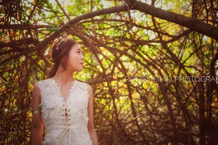 新娘造型作品-自然韓風-造型:Sharon怡婷