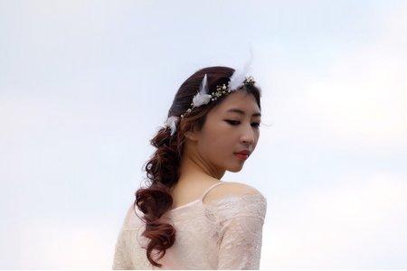 婚紗造型作品-波西米亞-造型-Sharon怡婷