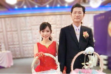 1/28婚宴現場-二進造型-新娘:靜卿 造型:朵拉