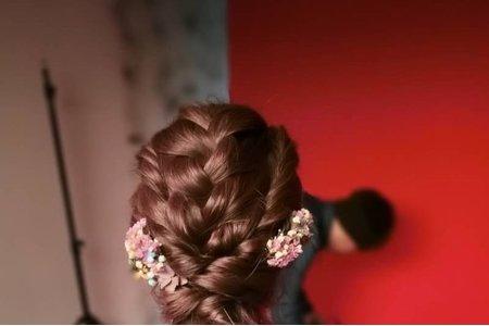 乾燥花系列編髮