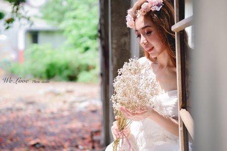婚紗創作-鳳凰花樹下巧遇仙子