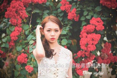白紗造型-簡約韓風 造型:朵拉