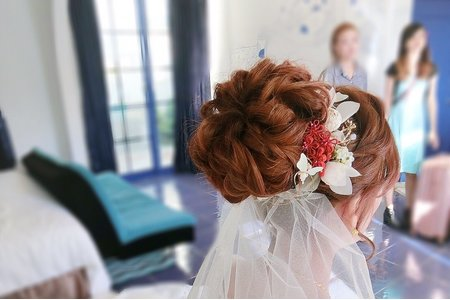 M&B studio婚宴現場-結婚迎娶造型-新娘美俐