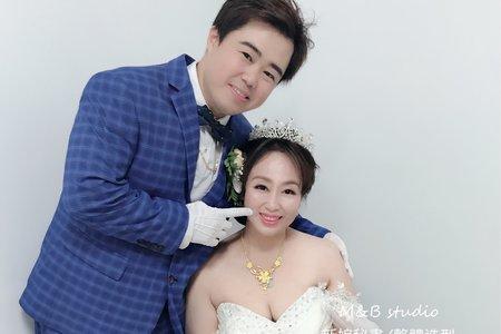 M&B studio婚宴現場-結婚迎娶新娘-美華