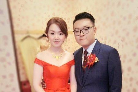 M&B studio婚宴現場文定造型-新娘雯涵