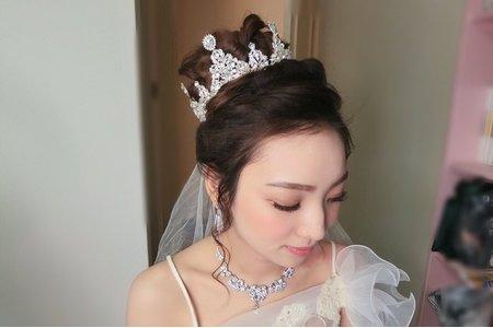M&B studio婚宴現場-白紗造型-新娘阿簪