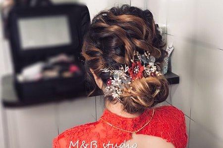 訂婚造型-新娘雅雅