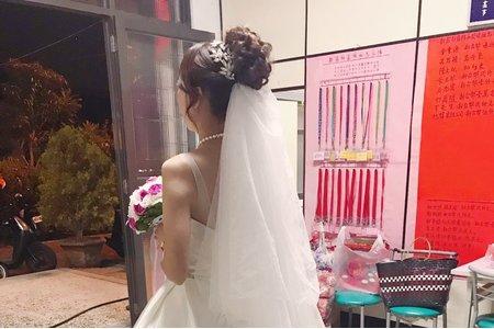 婚宴現場-新娘姿妤-白紗造型