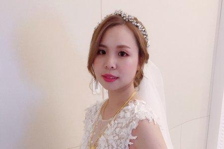 婚宴現場-新娘敏敏-白紗造型