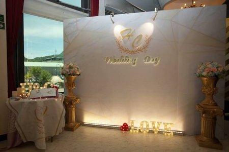 婚禮背板公板方案