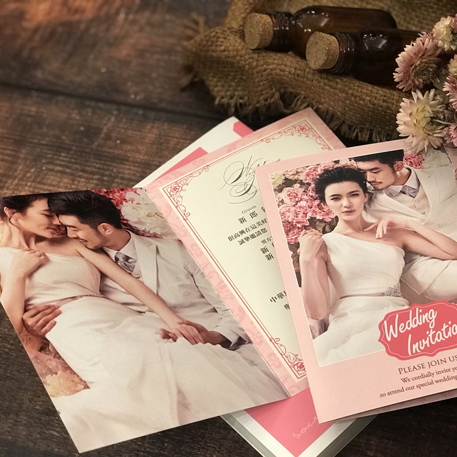 Q004-01 - 南瓜馬車喜帖坊/喜帖高雄印刷廠商《結婚吧》
