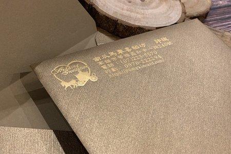 古銅金珍珠信封
