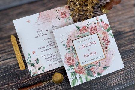 明信片喜帖、單卡式婚卡系列