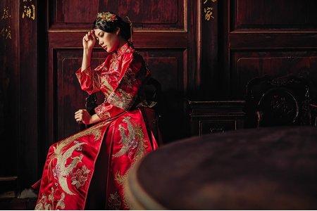 【新秘許小佳】復古中式婚紗/自助婚紗/婚紗攝影/新娘秘書