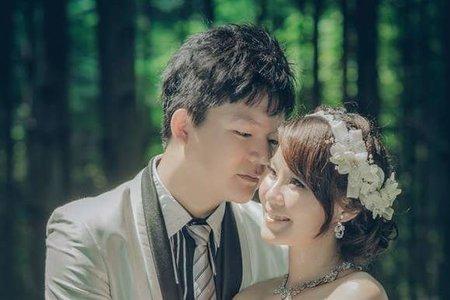 結婚外拍髮妝造型