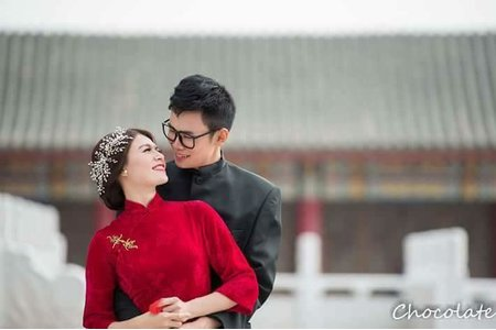 婚紗外拍-古典浪漫