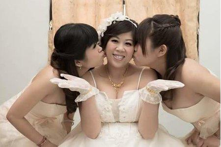 子琪結婚三造型-溫馨姊妹