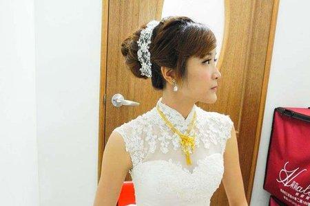 怡谷結婚婚宴-古典風白紗造型