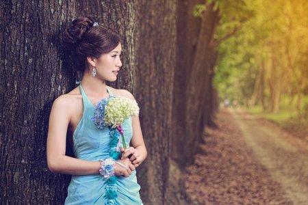 森林系婚紗