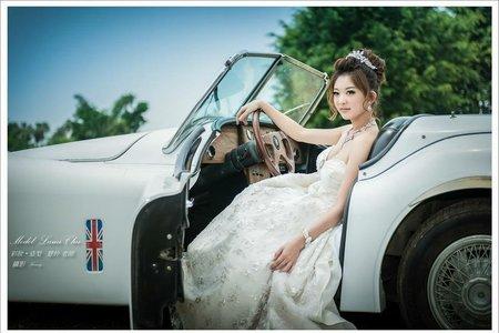 宮廷風-婚紗作品四造型